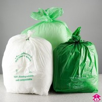 Starch based biodegradable bin liners and refuse sacks